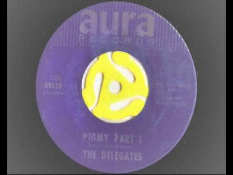 Billy Larkin and The Delegates  - Pigmy part 1 and 2 -  Aura records 1965