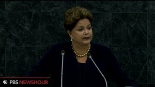 Brazilian President condemns NSA spying