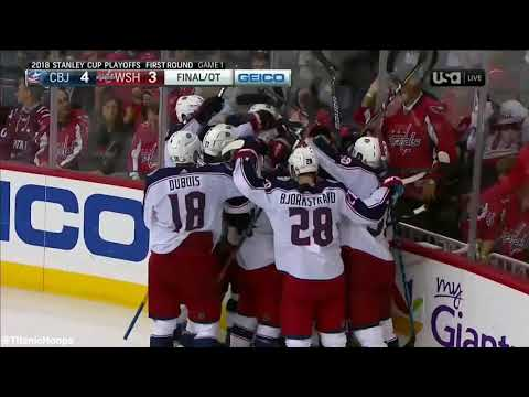 Artemi Panarins game winning goal in overtime is even better with Titanic music!