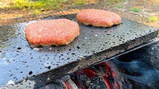 【自然音】溶岩でダブルチーズバーガーを作れますか?