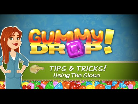 How To Use The Globe in Gummy Drop!