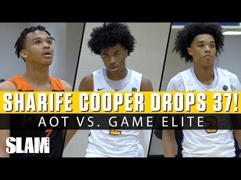 Sharife Cooper Drops 37 in Season Opener 😈 AOT vs Game Elite!