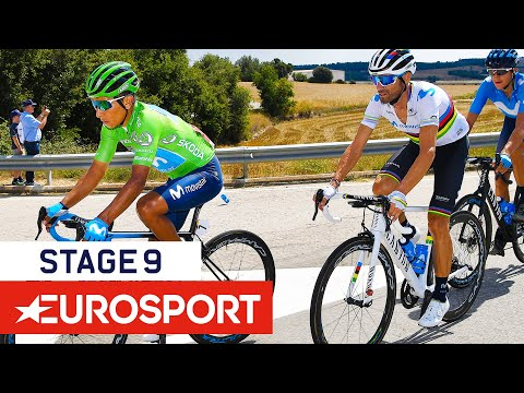 Vuelta A España 2019 | Stage 9 Highlights | Cycling | Eurosport