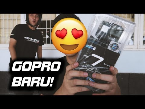 UNBOXING GOPRO HERO 7 BLACK INDONESIA