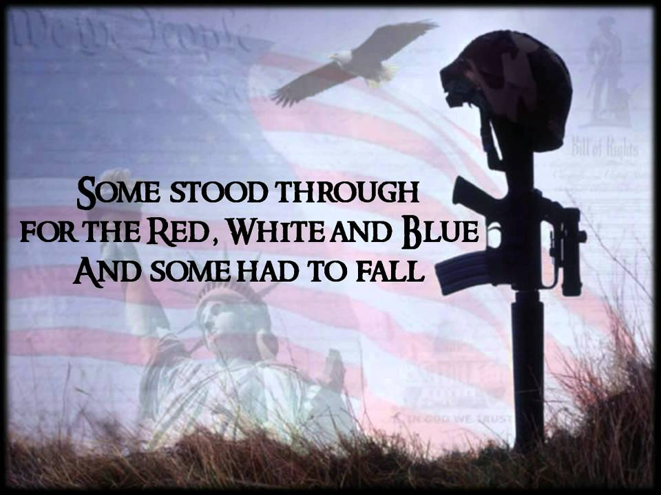 Fallen Soldier Quotes Cool Some Gave All  Billy Ray Cyrus  Youtube
