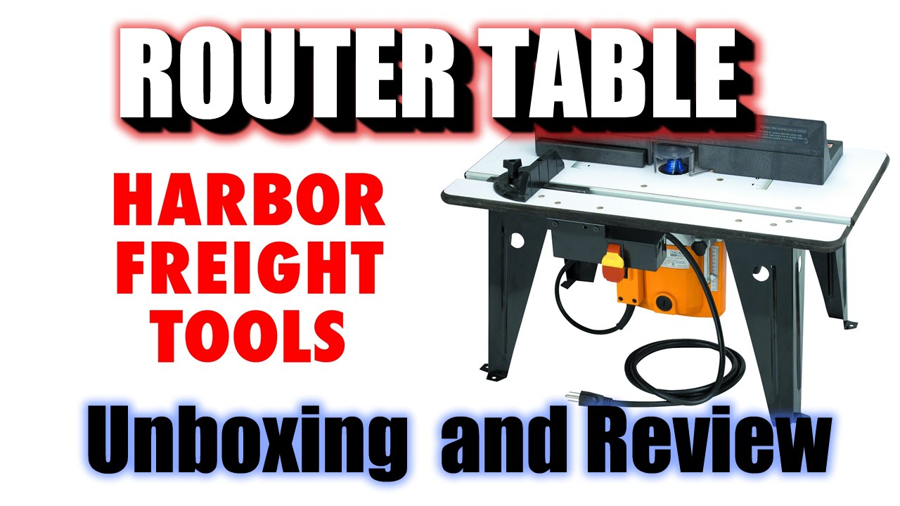 Benchtop router table with 1 34 hp router chicago electric power benchtop router table with 1 34 hp router chicago electric power tools item95380 youtube greentooth Choice Image
