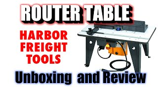 Buy benchtop router woodworking challenge benchtop router table with 1 34 hp router chicago electric power tools item95380 harbor freight greentooth Images