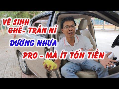 CHĂM SÓC XE | Mẹo tự vệ sinh nội thất xe đúng cách | Thái Lớn