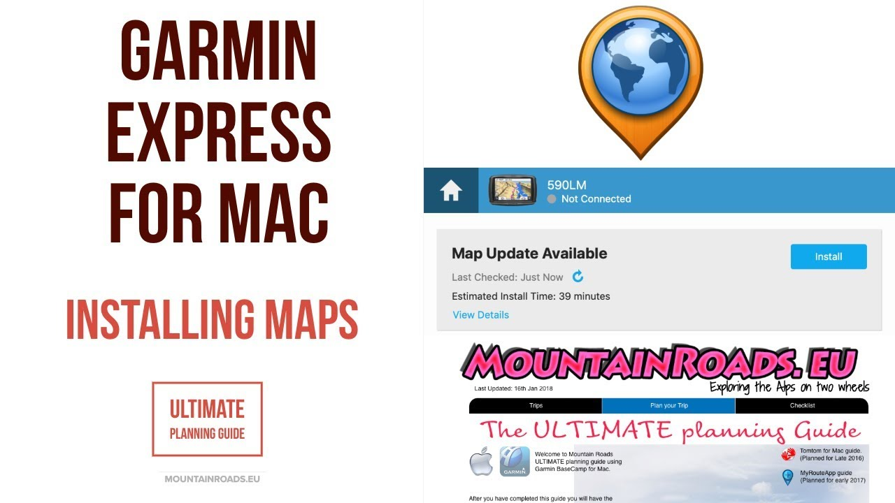 BaseCamp For Mac Re Installing Maps With Garmin Express V - Garmin nuvi map update us region