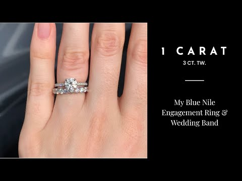 MY 1.0 CARAT ENGAGEMENT RING!!  - BlueNile -  3.08CT TW