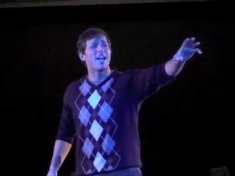 Bradley Whitfield sings