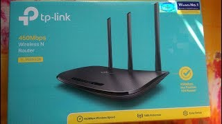 Tp-link 450Mbps Wireless N Router TL-WR940N Unboxing Video.2017