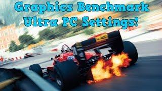 F1 2014 - Graphics Benchmark - Ultra PC Settings! (1080p HD)