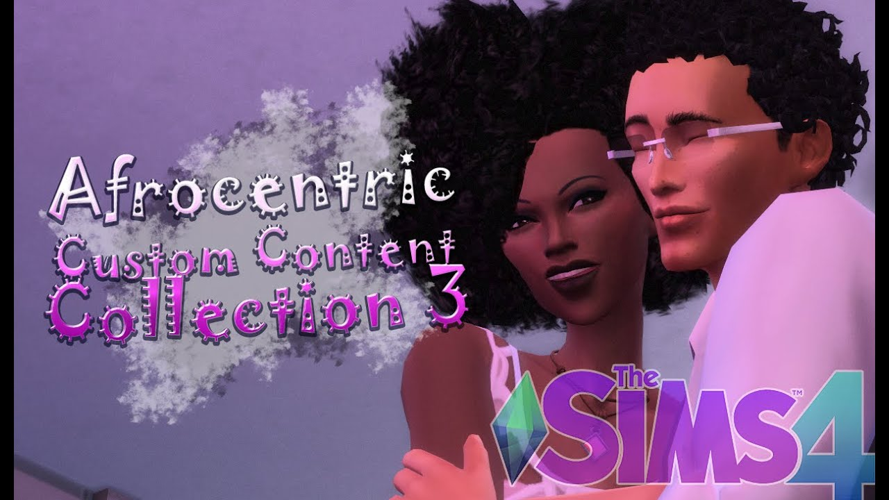 Sims 4 Cc Showcase Afrocentric Hairs Collection 3 Youtube