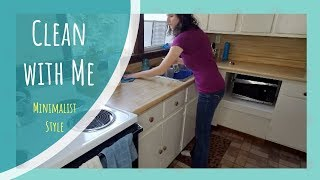Clean With Me || Minimalist Simple Living Style
