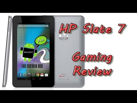 HP Slate 7 Gaming Review
