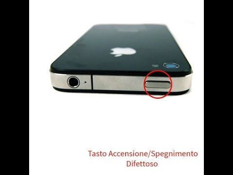 tasto accensione iphone 6 Plus duro
