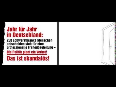 Zur Sterbehilfe-Debatte im Bundestag: DIGNITAS startet Aufklärungskampagne zur Sterbehilfe / Deutsche Bahn untersagt Aufhängung der Plakate am Berliner Hauptbahnhof