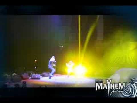 Disturbed Mayhem Promo Video Diary #3