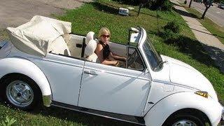 Tight Turn Radius on a 1977 VW Super Beetle