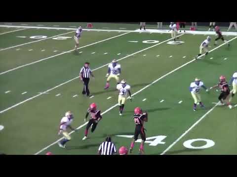 2017 Zuni High School Football Highlights