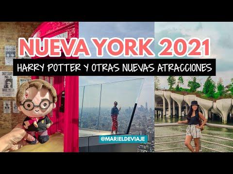Nuevas atracciones en Nueva York 2021