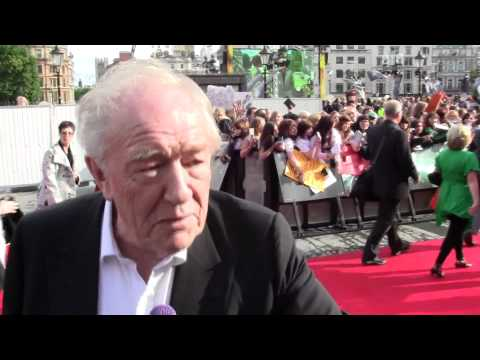 Michael Gambon at Deathly Hallows Pt 2 World Premiere