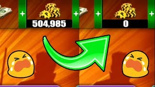 I RISKED ALL MY 8 BALL POOL COINS  *you will be shocked**