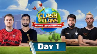 World Championship #4 Qualifier Day 1 - Clash Of Clans