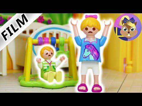 Playmobil film: Hanna's första jobb som barnvakt   barnserie på svenska