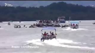 В Колумбии затонуло судно с туристами