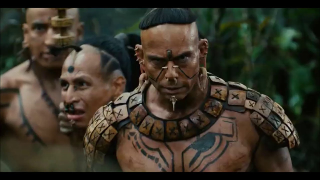 Download jaguar chasing and killing a man.....Apocalypto.........