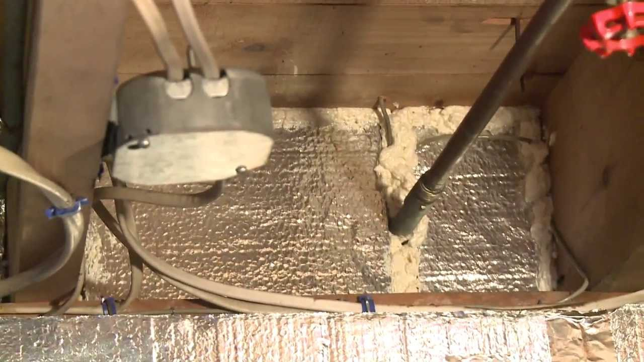 Insulating A Rim Joist With Silverglo