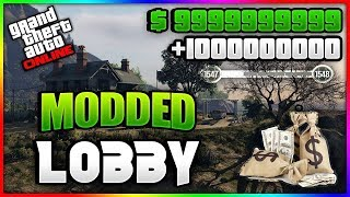 ALL PLATFORMS GTA ONLINE MODDED MONEY LOBBY!