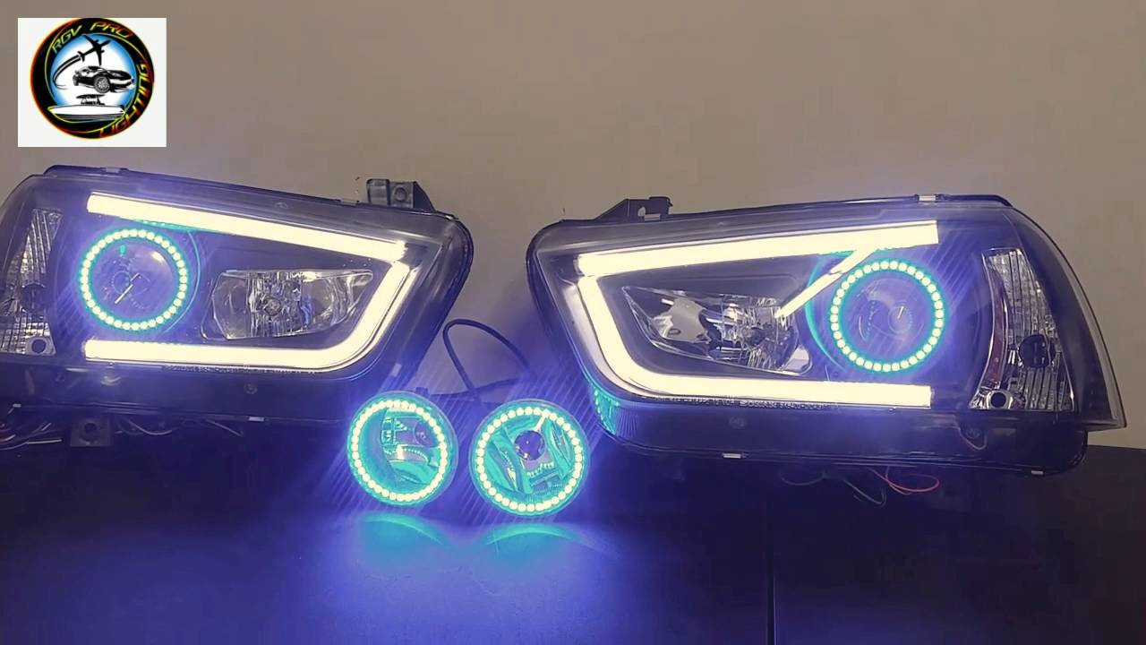 2011 2014 Dodge Charger Aftermarket Headlights Youtube