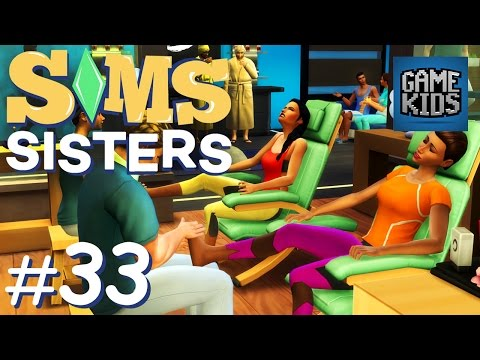 Building A Spa - Sims Sisters Episode 33