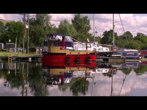 Bowling harbour - Forth & Clyde Canal - Scotland