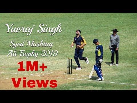 Yuvraj Singh Bowling in T-20 Match,  Syed Mushtaq Ali Trophy 2019