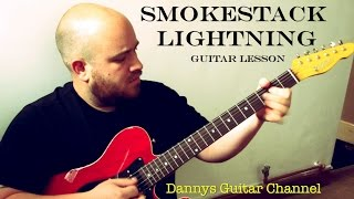 Smokestack Lightning - Howlin Wolf - Blues Guitar Lesson - Plectrum Version