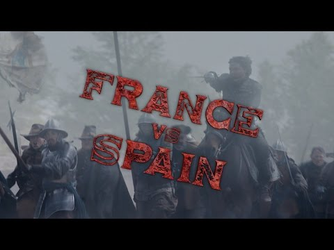 France Vs Spain - The Musketeers: Series 3 - BBC One