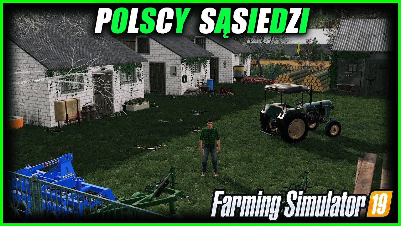 ┃POLSCY SĄSIEDZI┃Pokazuje sąsiadom moje gospodarstwo i pola 👌 1