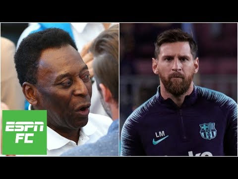 Reacting to Pele's 'one-skill' comments about Lionel Messi | Extra Time