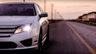 homepage tile video photo for Ford Fusion Sport- Sights and Sounds