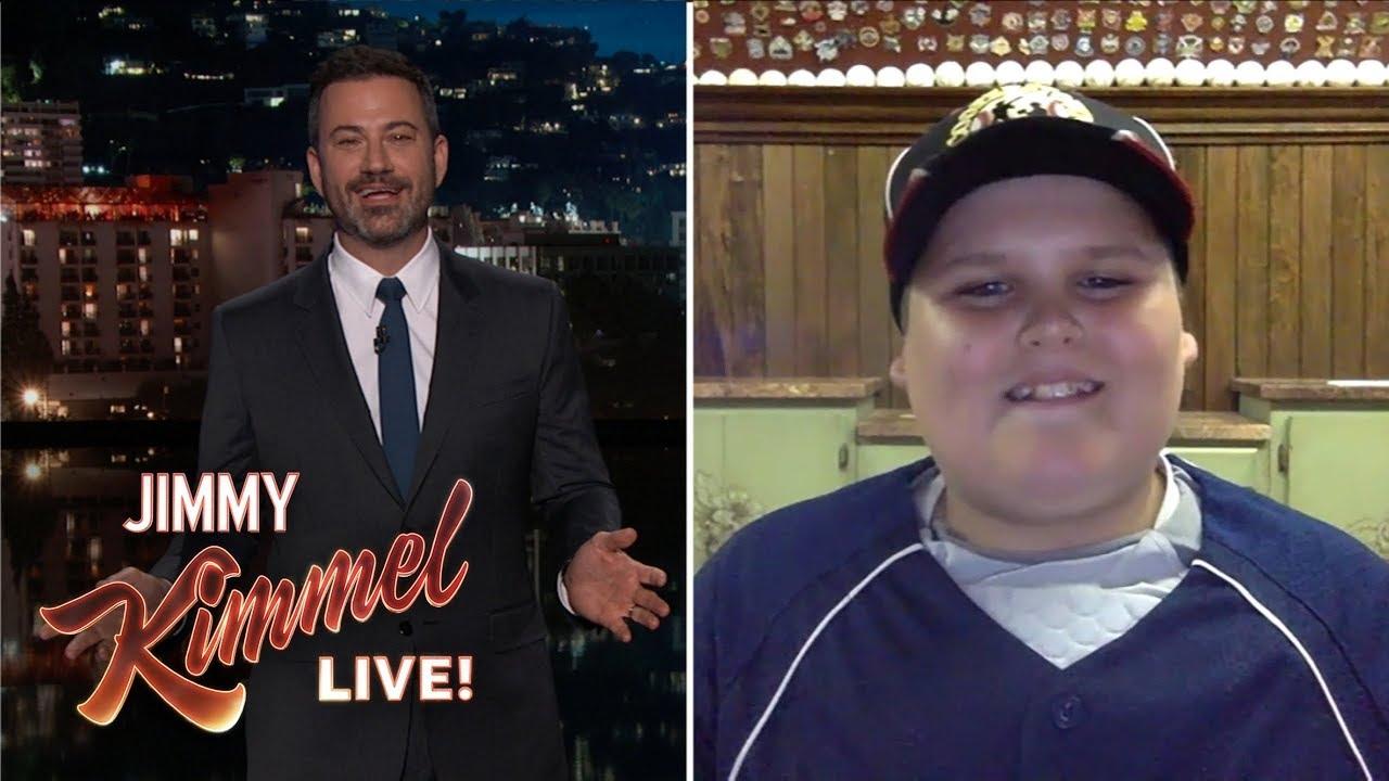 Jimmy Kimmel Interviews Big Al 'Dinger' Kid from Little League World Series