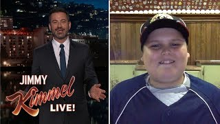 Jimmy Kimmel Interviews Big Al