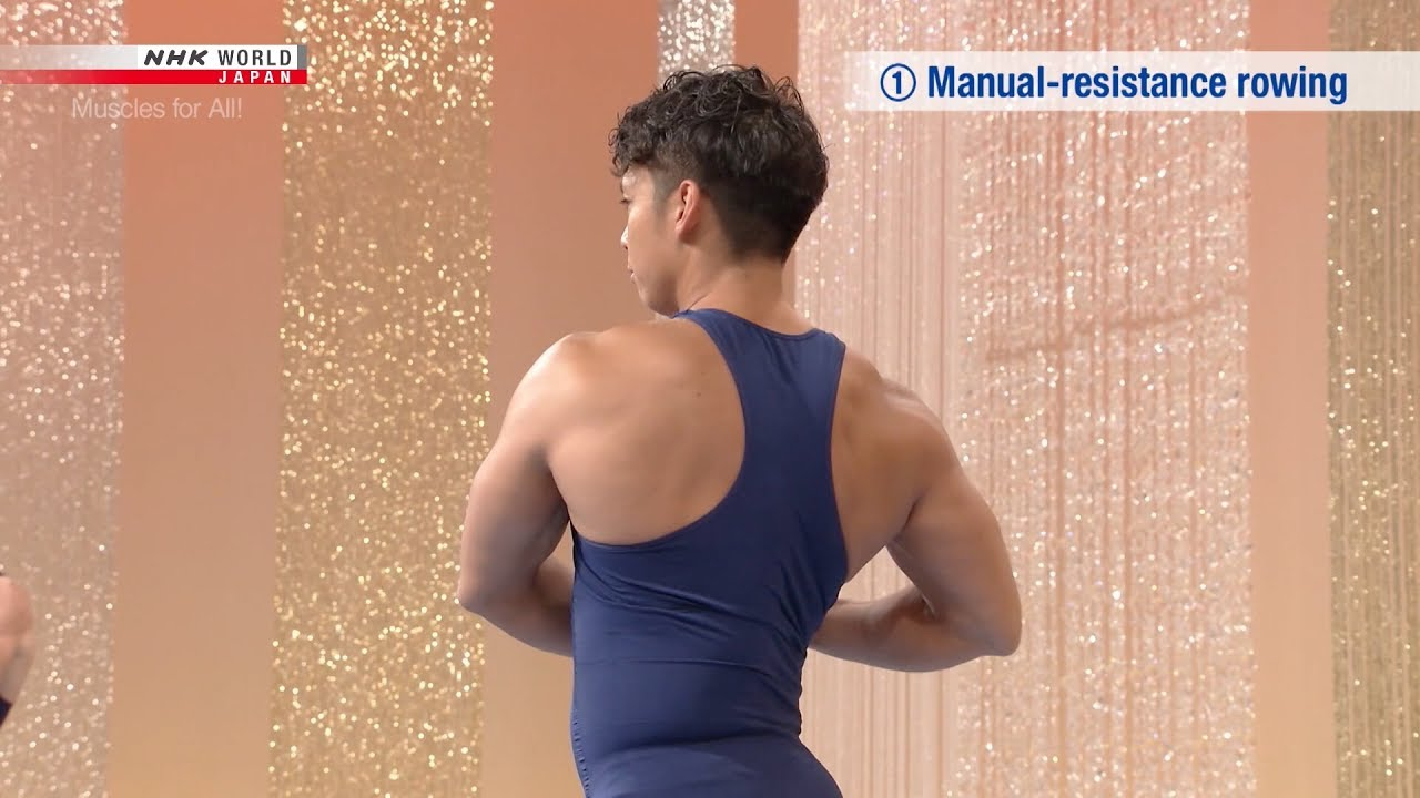 Photo of 5-Minute Back Workout, Part 1 – Muscles for All! [筋肉体操] – video