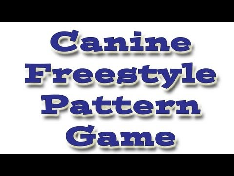 Canine Freestyle Patterns Game   ليبيا VLIP-VLIP LV