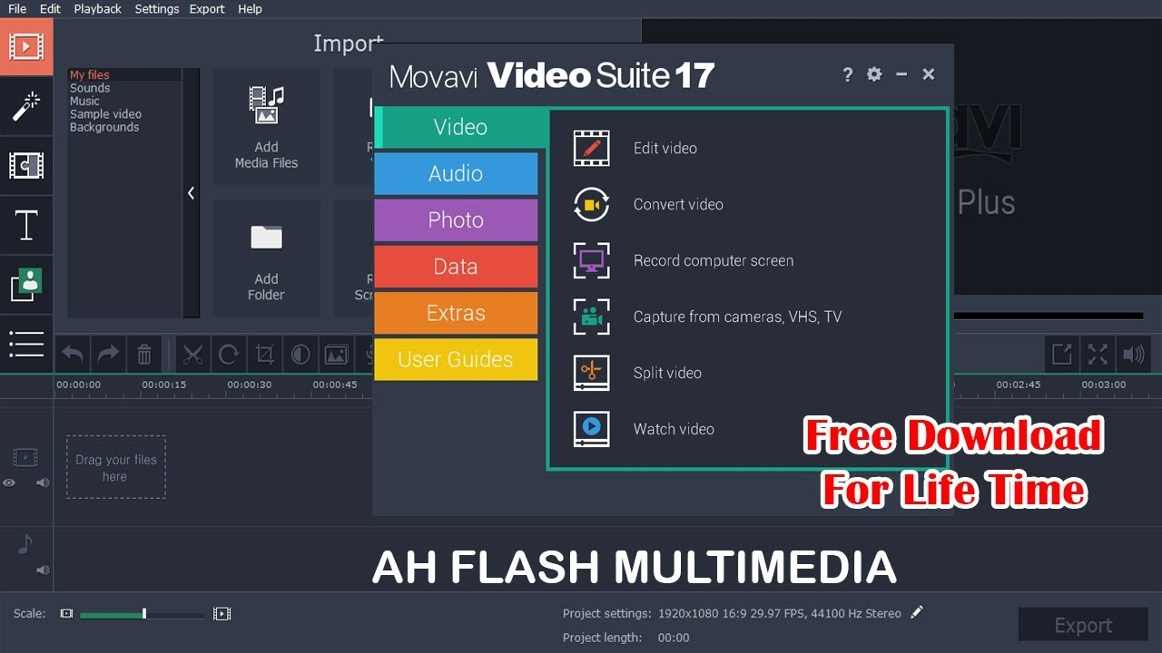 Movavi Video Suite  full version 17.0.1 + Crack + Activation free Download 2018 [Bangla]