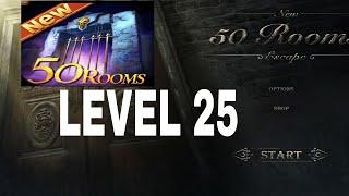 New 50 Rooms Escape Level 25 Walkthrough