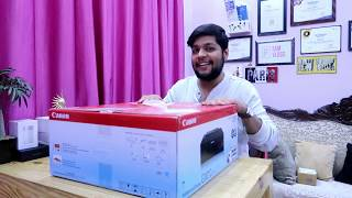 Unboxing And Full Installation Of CANON PIXMA G1010 Colour Printer